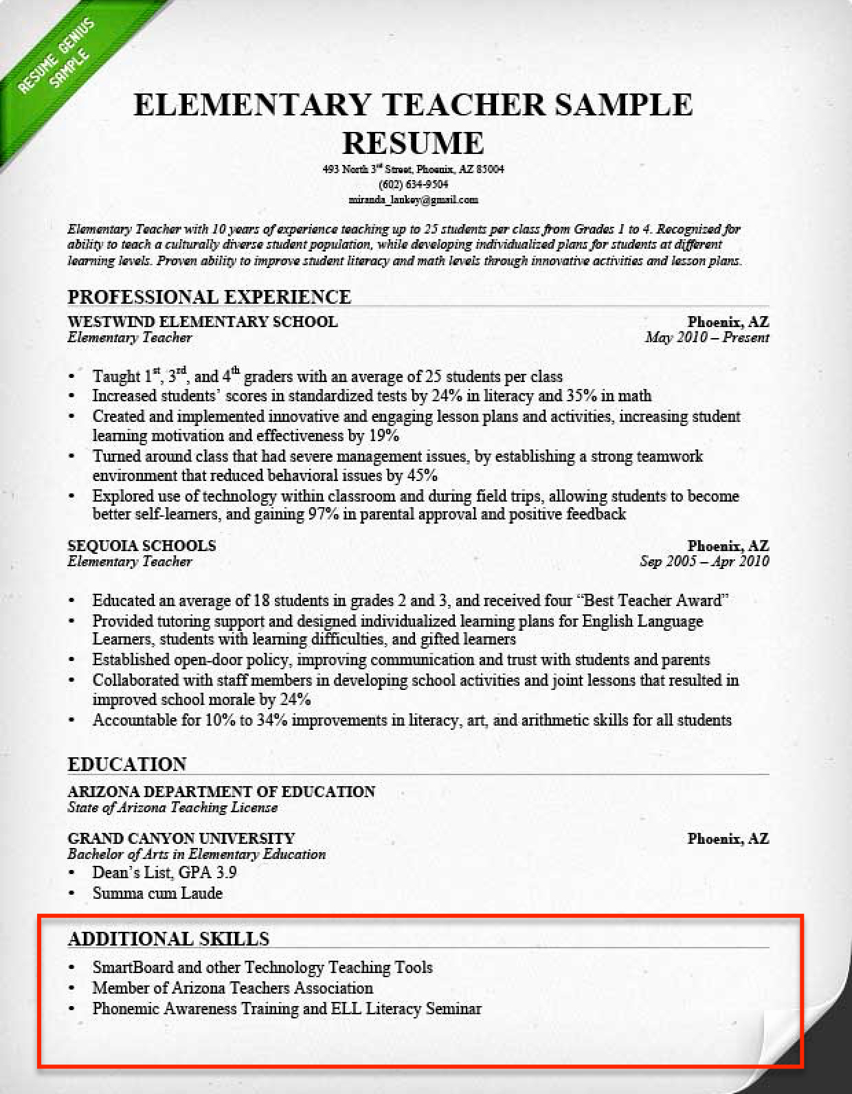 Resume Skills Section 250 Skills for Your Resume