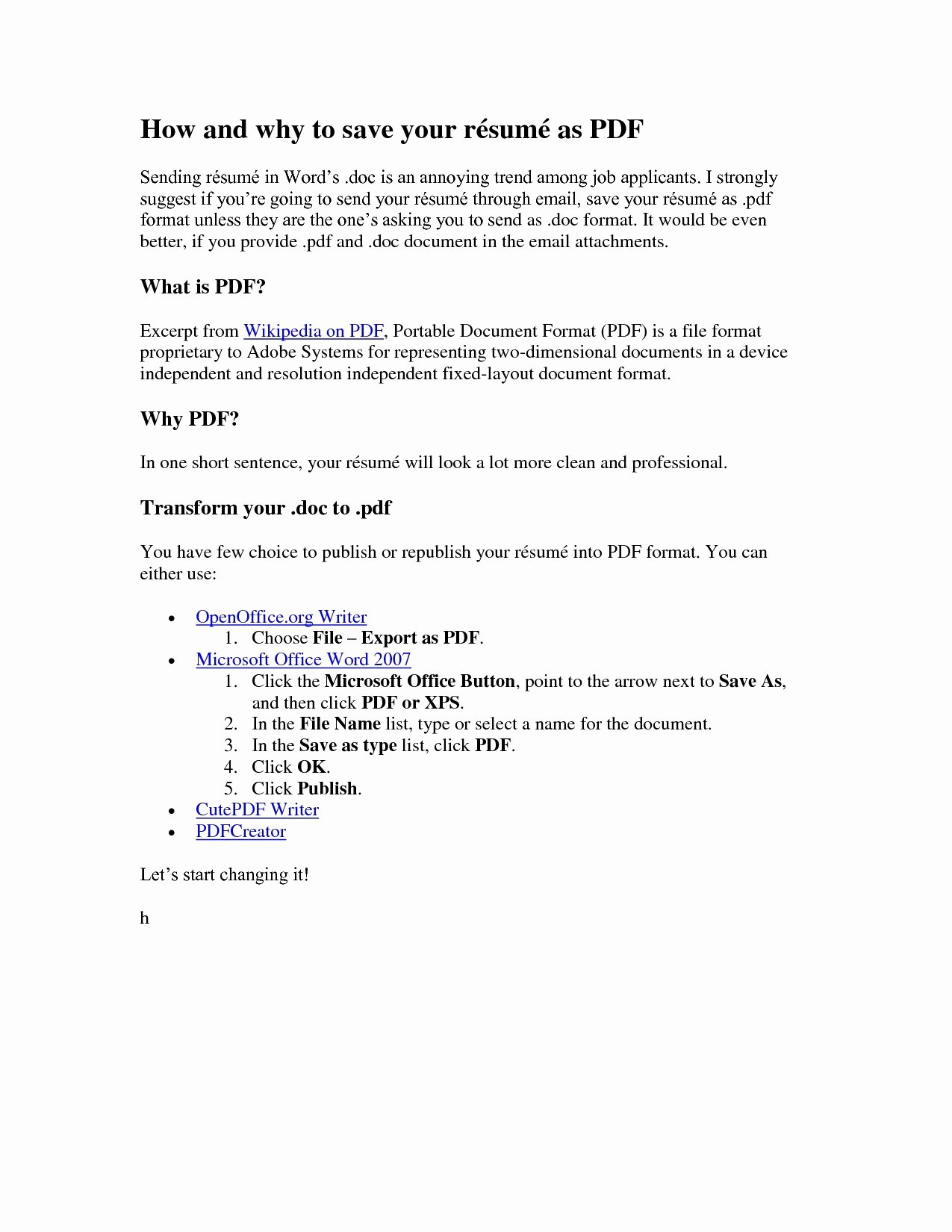 Resume Submission Email Template Sidemcicek