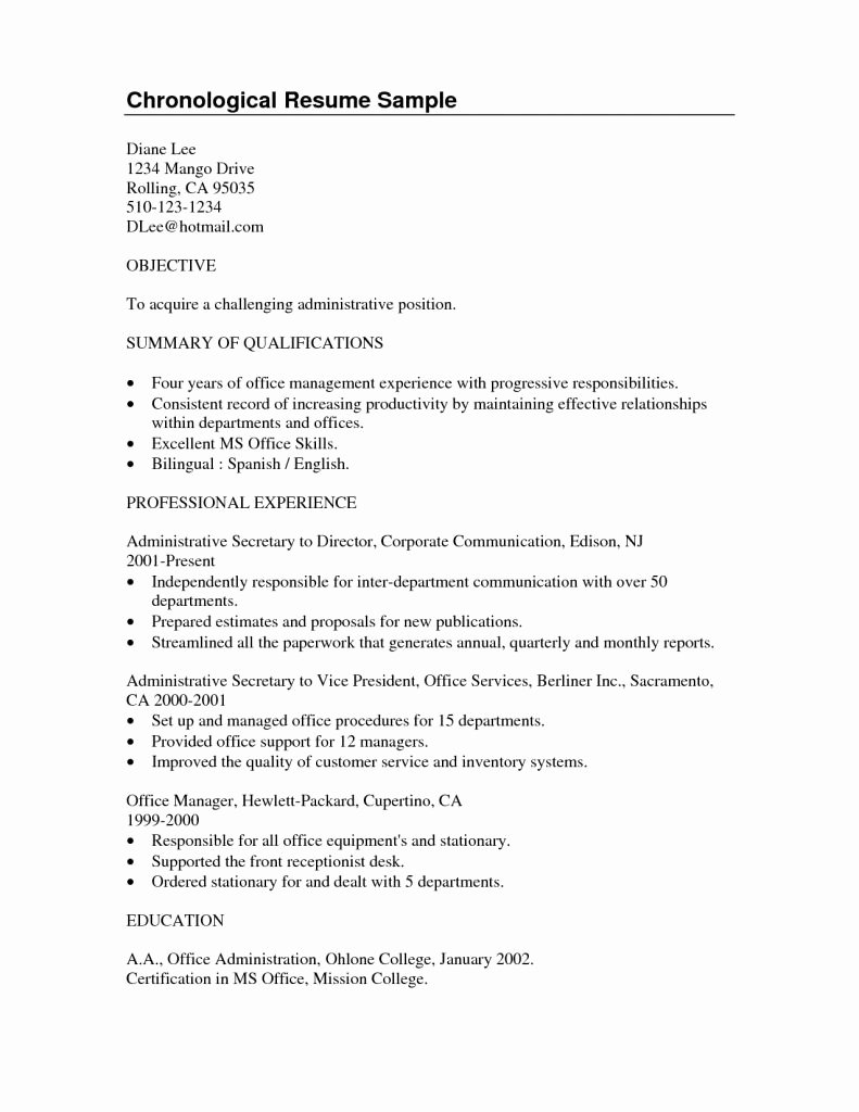 Resume Summary Examples for College Students