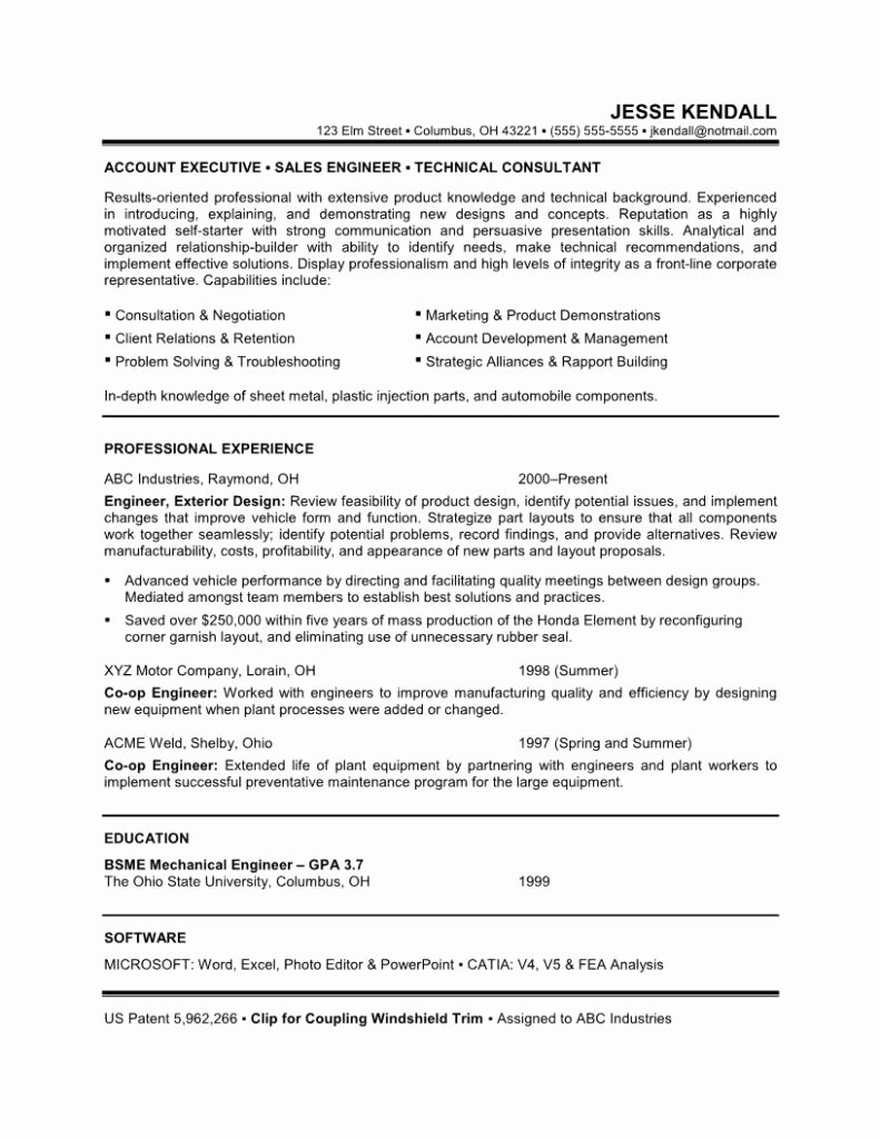 Career Change Objective Resume Sample Template Samples for