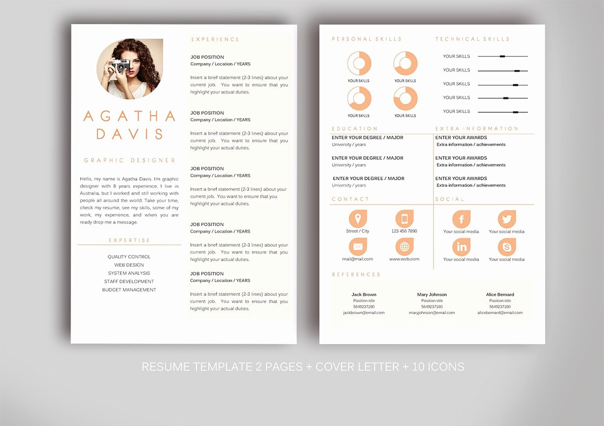 Resume Template for Ms Word Resume Templates Creative