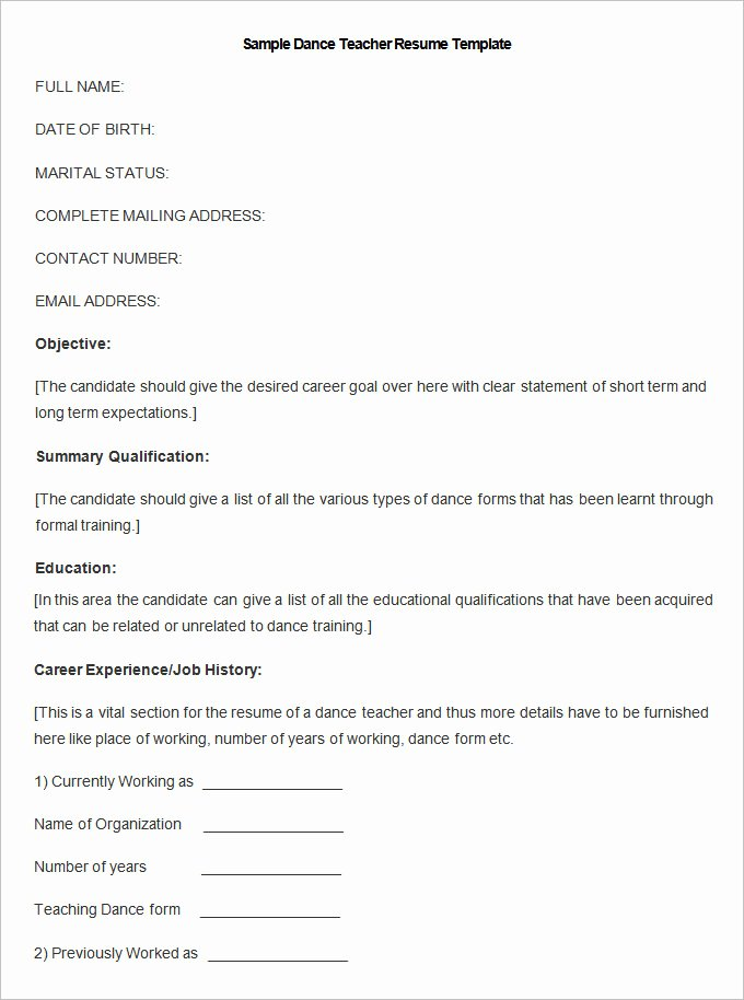 Resume Templates – 127 Free Samples Examples & format