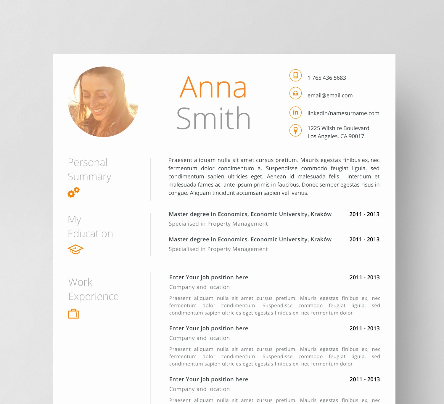 Resume Templates Design Download Sidemcicek