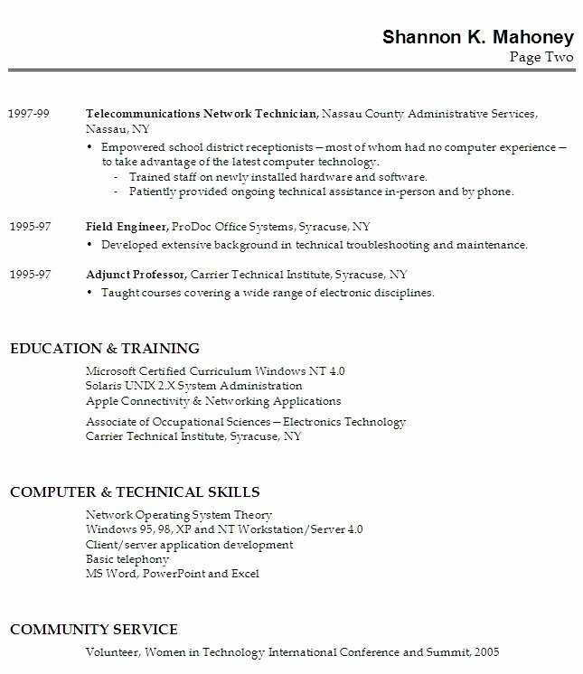 Resume Templates First Job First Cv No Work Experience