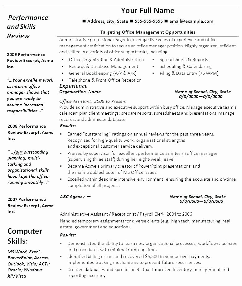 Resume Templates for Fice Free Open Fice Resume
