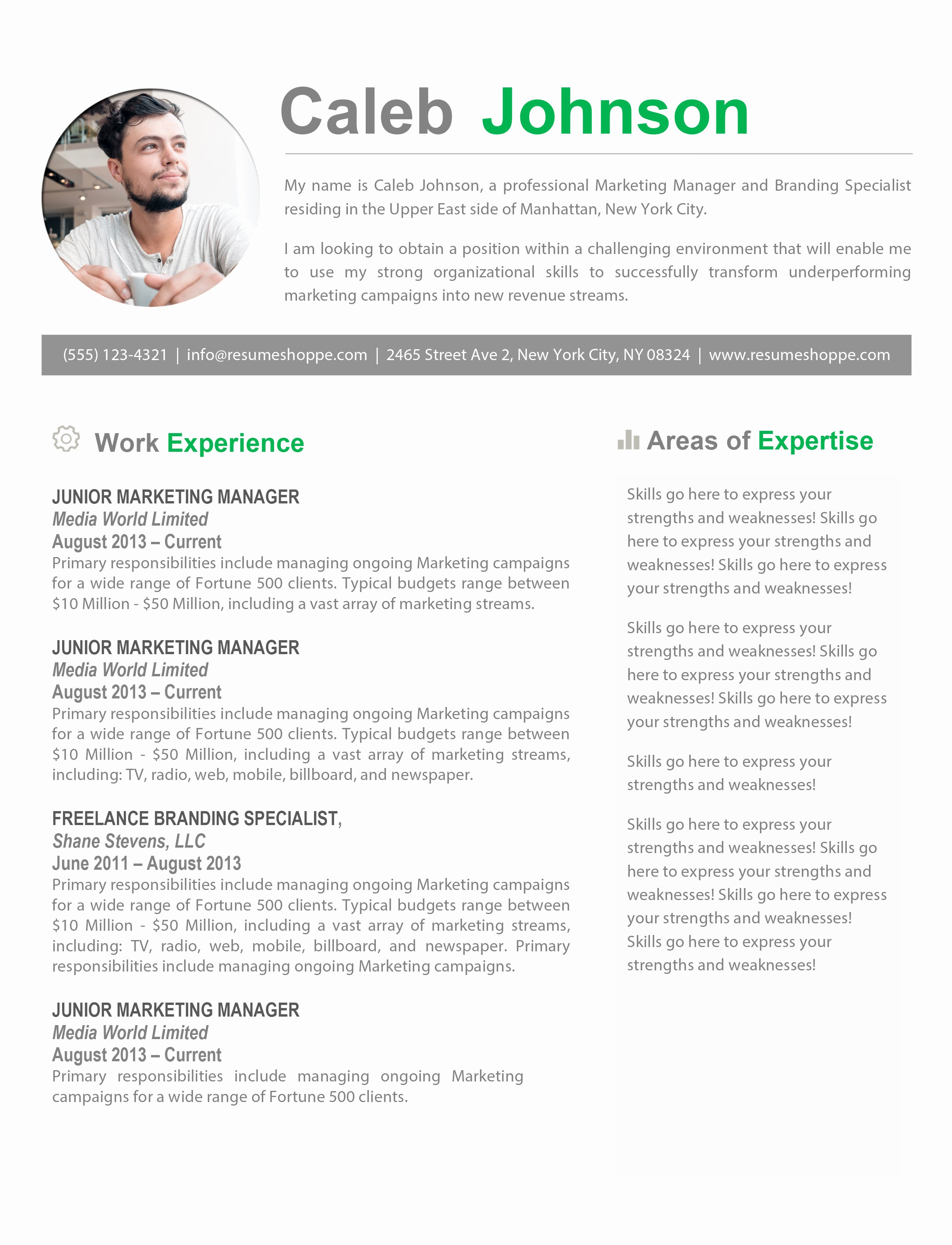 Resume Templates for Mac Also Apple Pages Ready Free