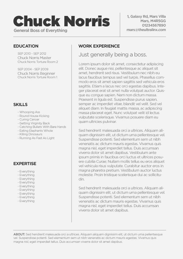 Resume Templates Free for Mac Best Resume Gallery