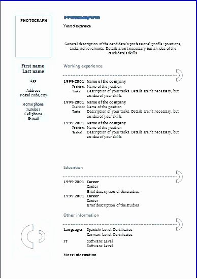 Resume Templates Google Docs In English New Free Resume