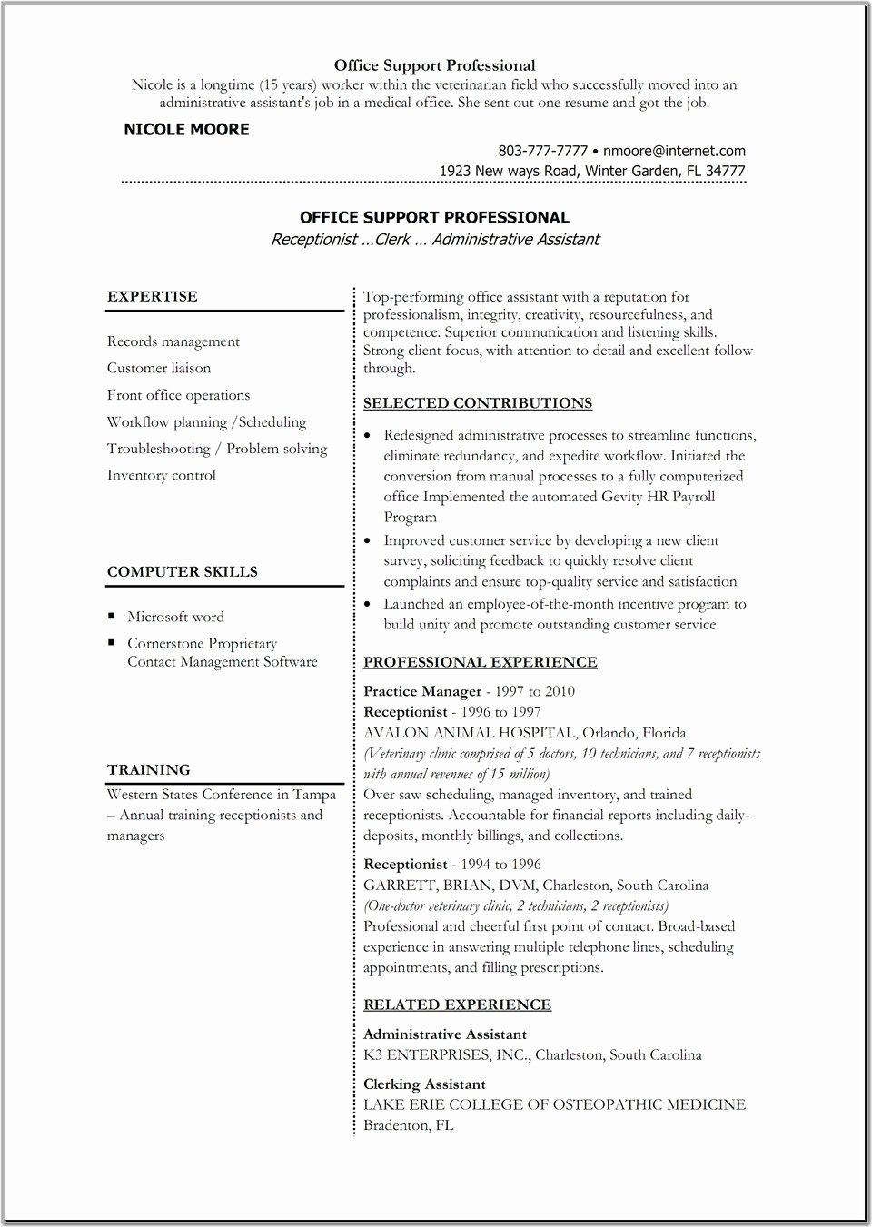 Resume Templates Microsoft Word 2007 for Mac