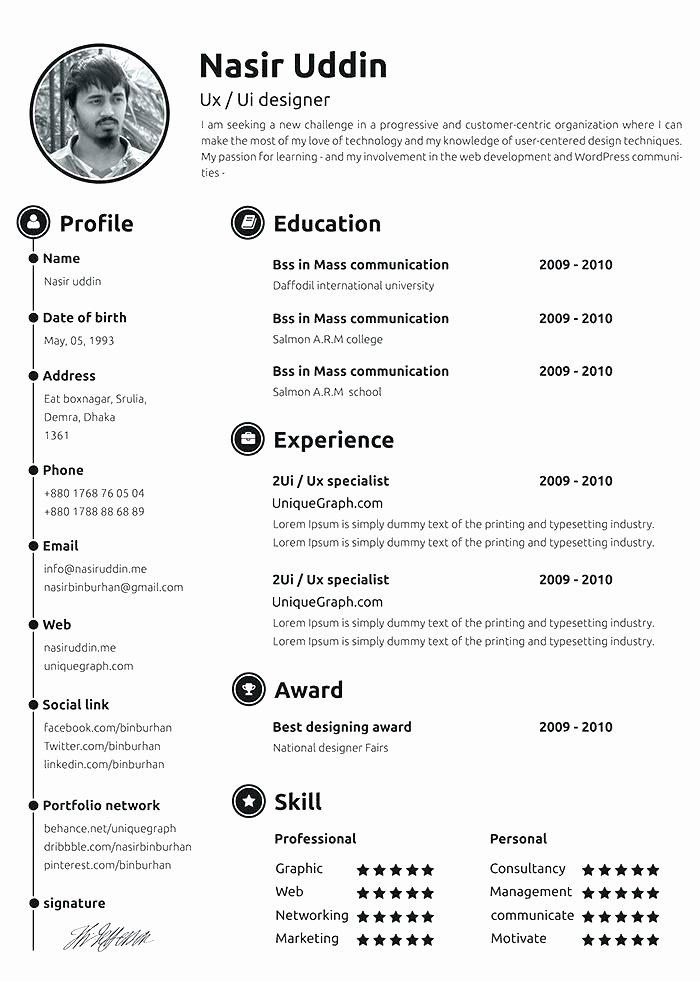 Resume Templates Microsoft Word Editable Resume Template