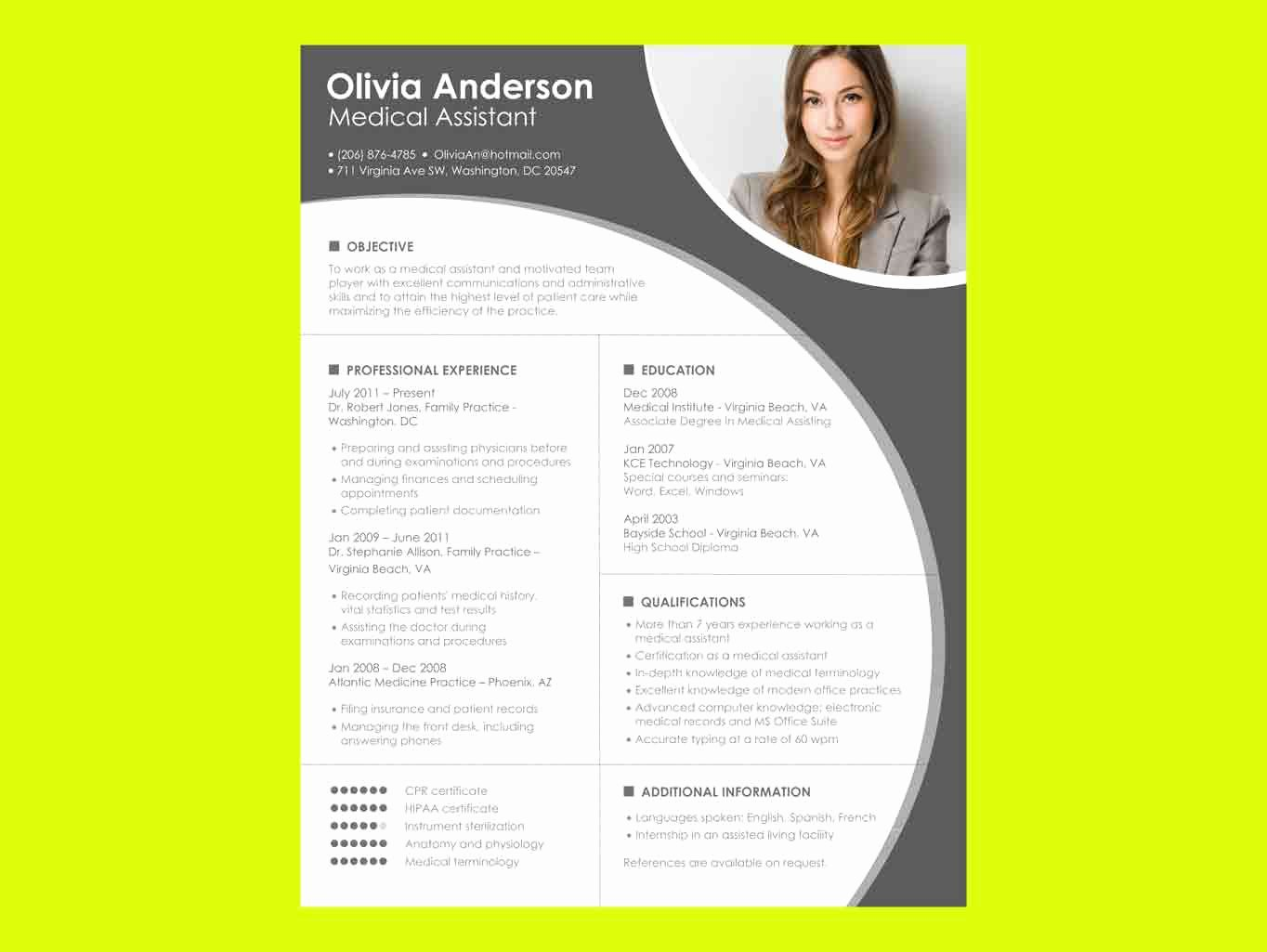 Resume Templates Microsoft Word Free Download – Perfect