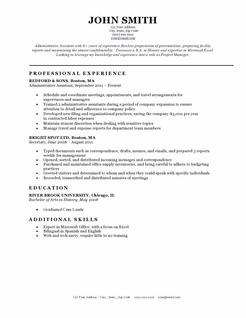 Resume Templates Resume Cv