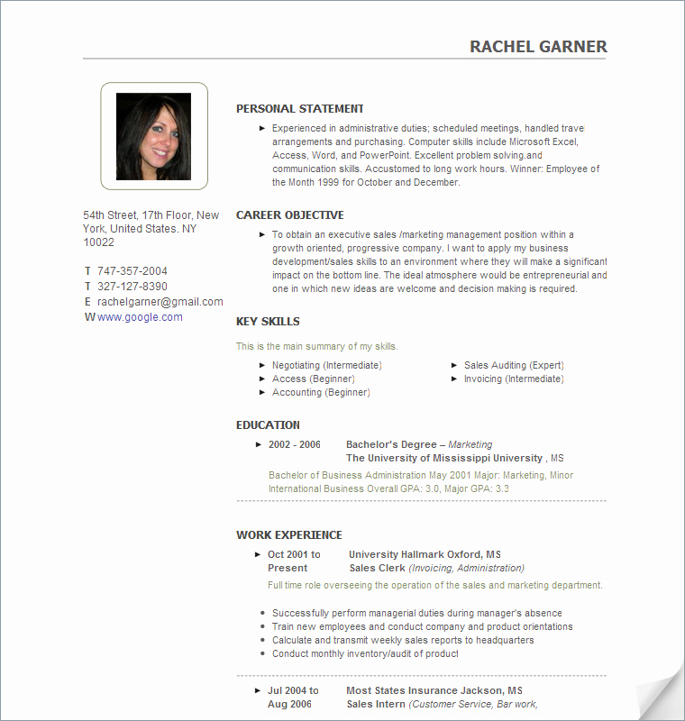 Resume with Of Candidate College Recruiter