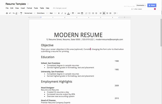 Resume without Job Experience Resume with No Work
