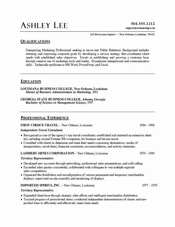 Resume Word Doc Best Resume Gallery