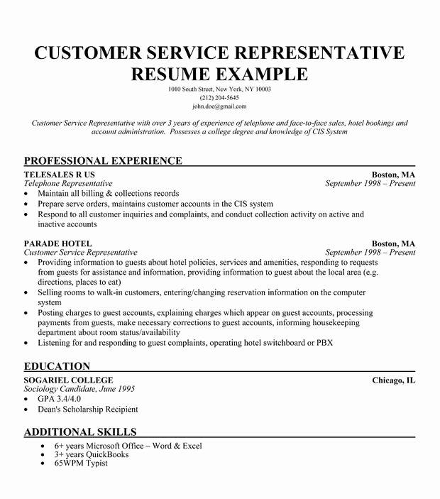 Resume Words to Describe Customer Service Skills