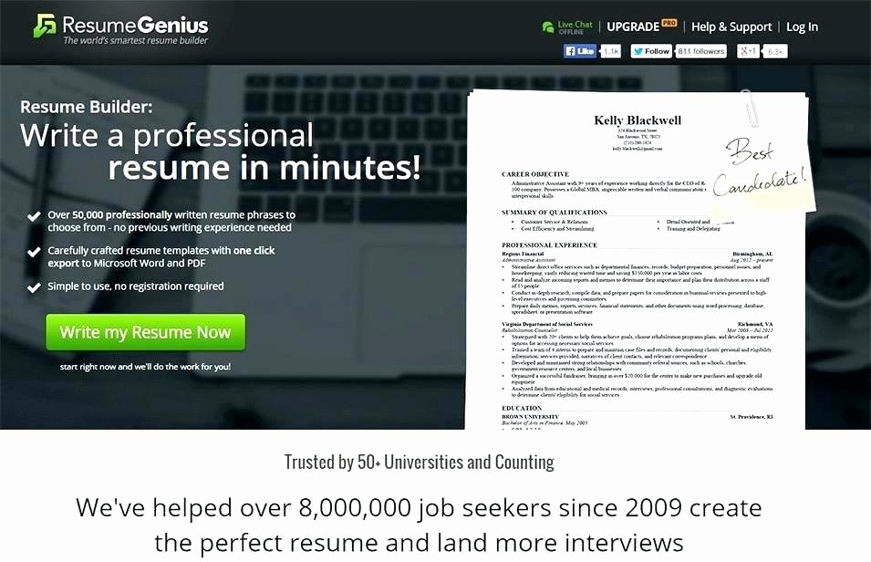Resume Writing software Mac Best Resume Building software