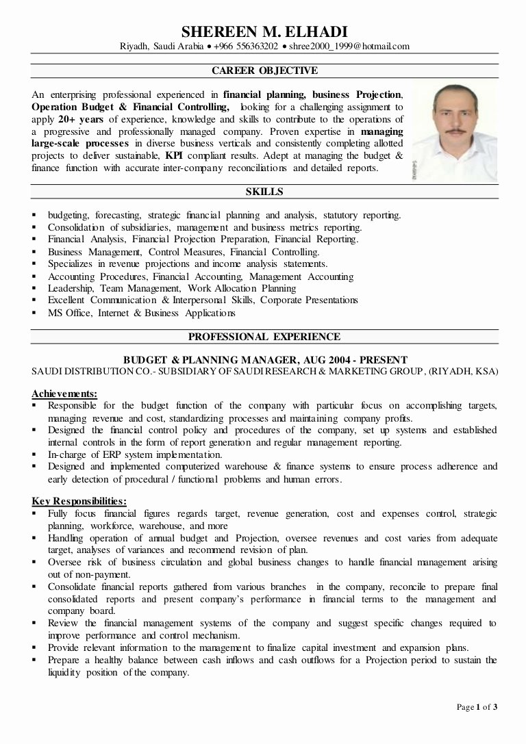Resumes Skills Qualifications Controller – Perfect