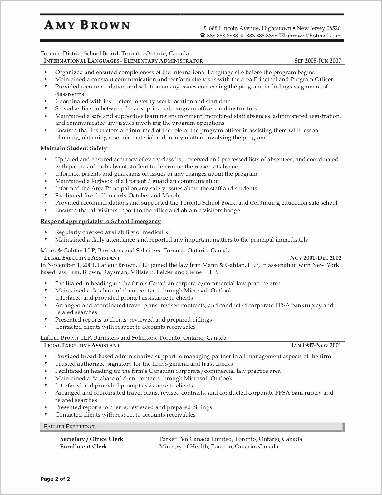 Resumes the Most Best Paper to Print Resume Template