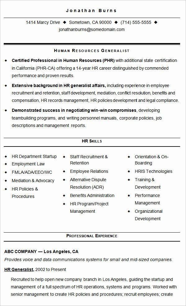 Retention Specialist Job Description for Resume the