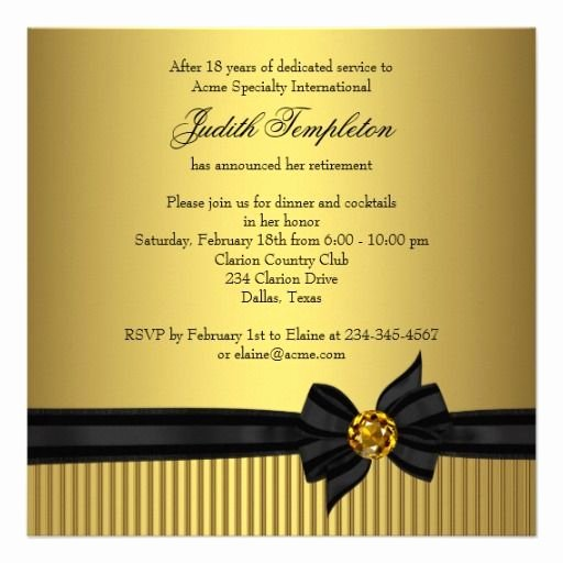Retirement Invitation Template Google Search