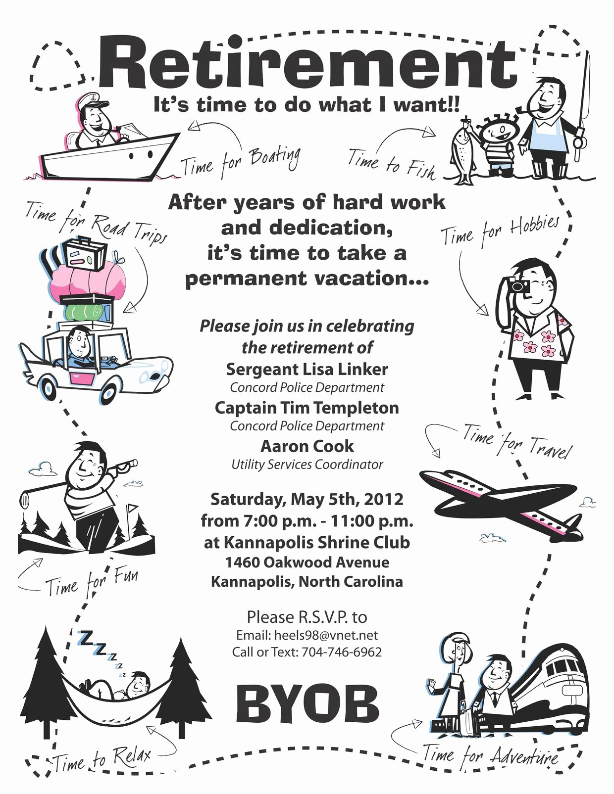 Retirement Party Invitation Wording Retirement Party