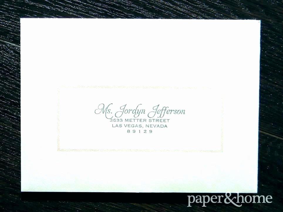Return Address Labels for Wedding Invitations Invitation