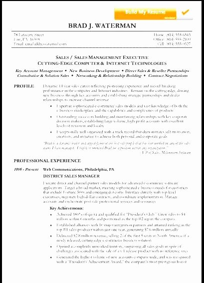 Reverse Chronological Resume Free Samples Examples