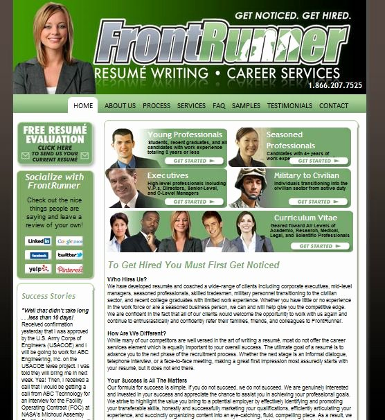 Review Of Best Resume Writing Service Fontrunner Line