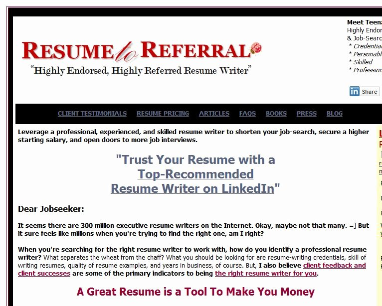 Review Of Best Resume Writing Service Resumebycprw