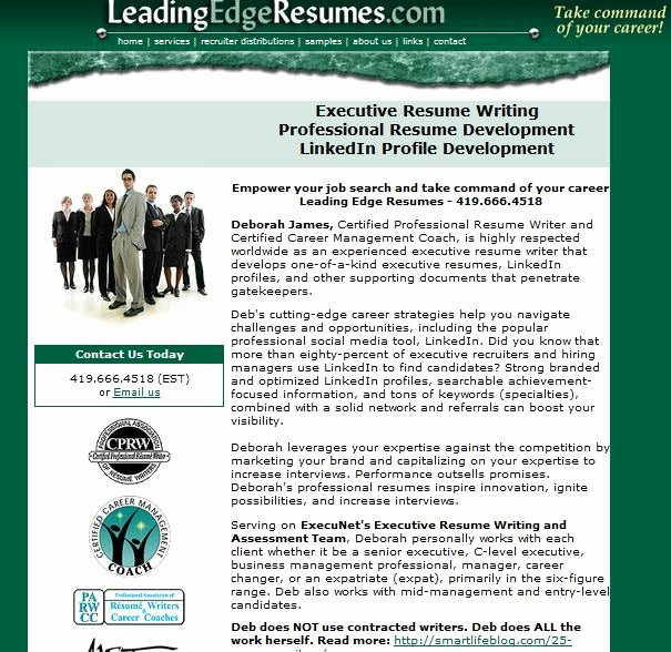 Review Of Leadingedgeresumes
