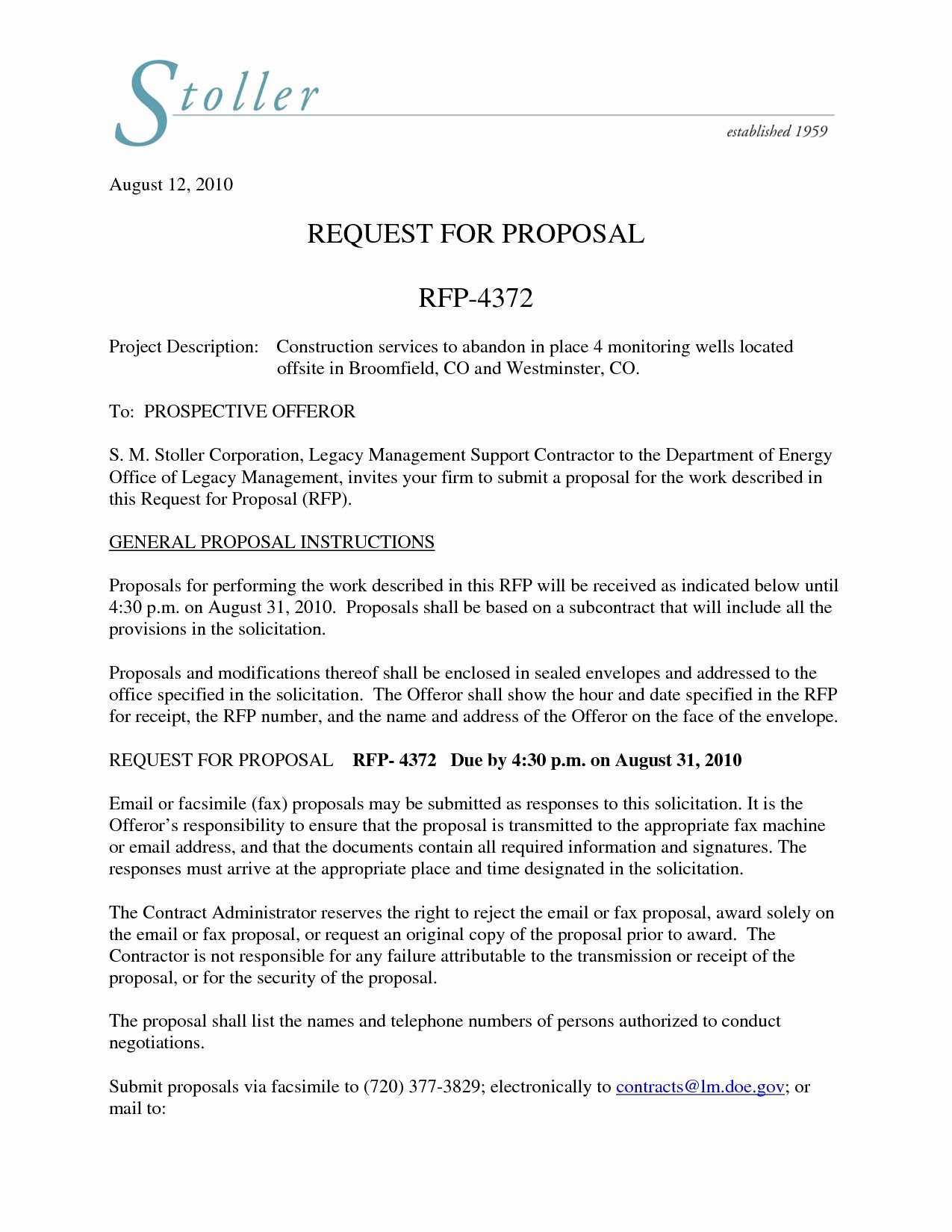 Rfp Proposal Cover Letter Best solutions Sales Proposal