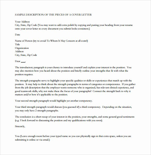Rn Cover Letter Template
