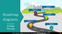 Roadmap Png Powerpoint Transparent Roadmap Powerpoint Png