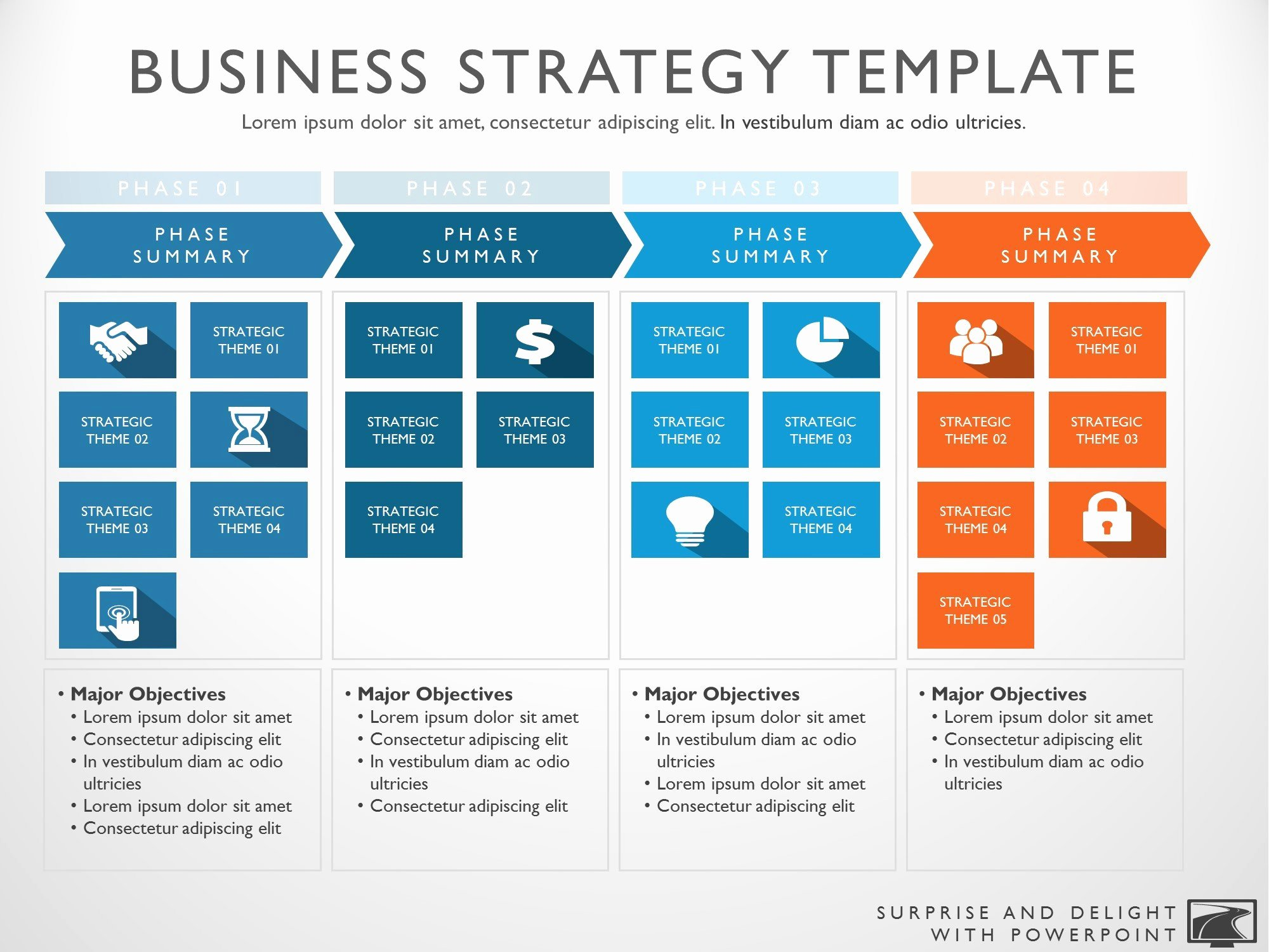 Roadmap Strategy Template Image Collections Template