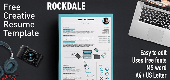Rockdale Creative Resume Template