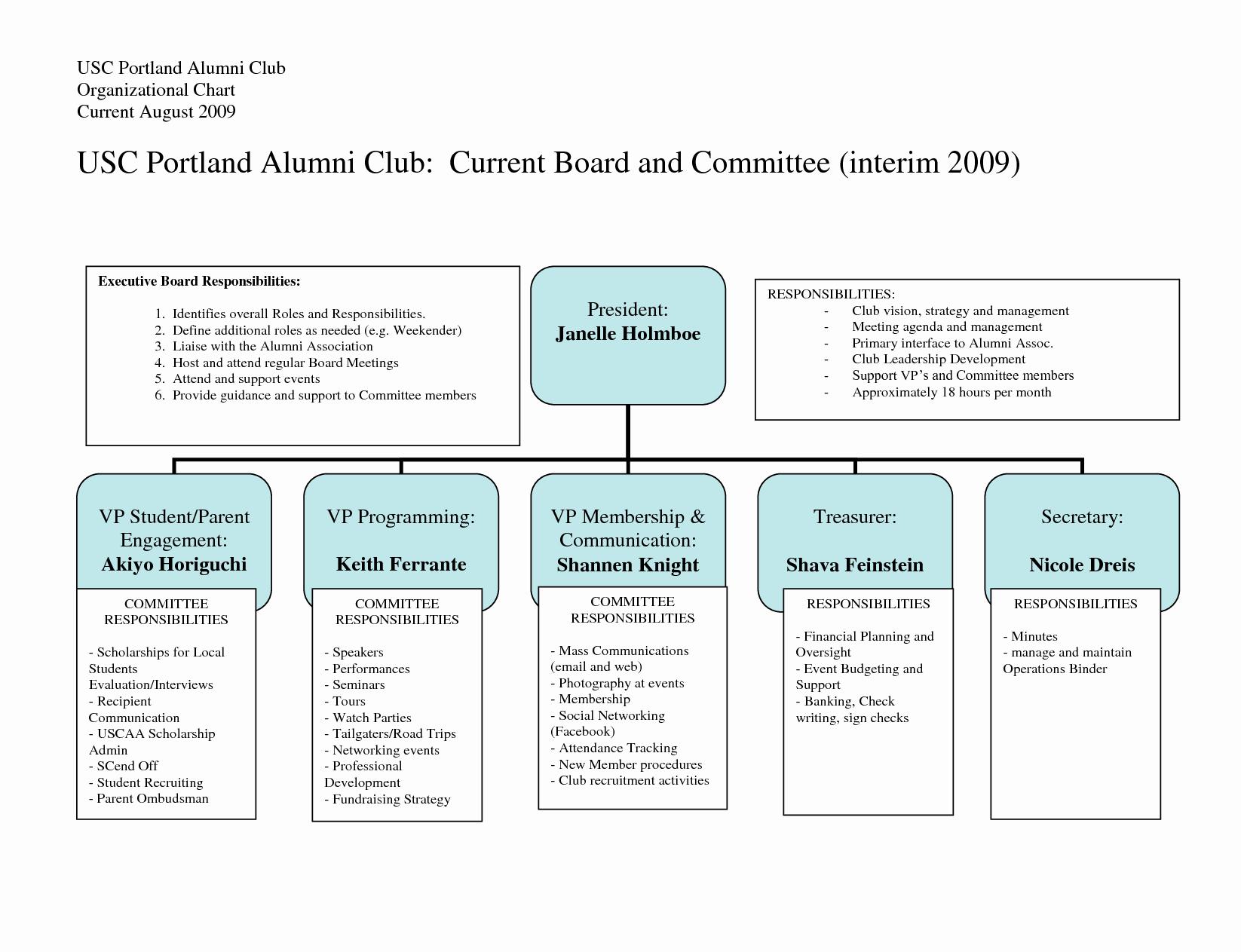 Roles and Responsibilities Chart Portablegasgrillweber