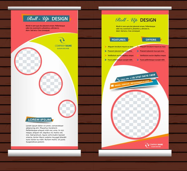Roll Up Banner Free Vector 10 608 Free Vector