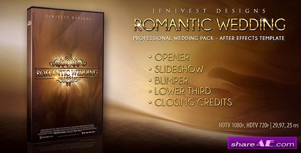 Romantic Wedding after Effects Project Videohive