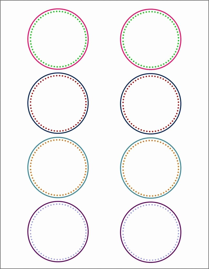 Round Labels On Pinterest