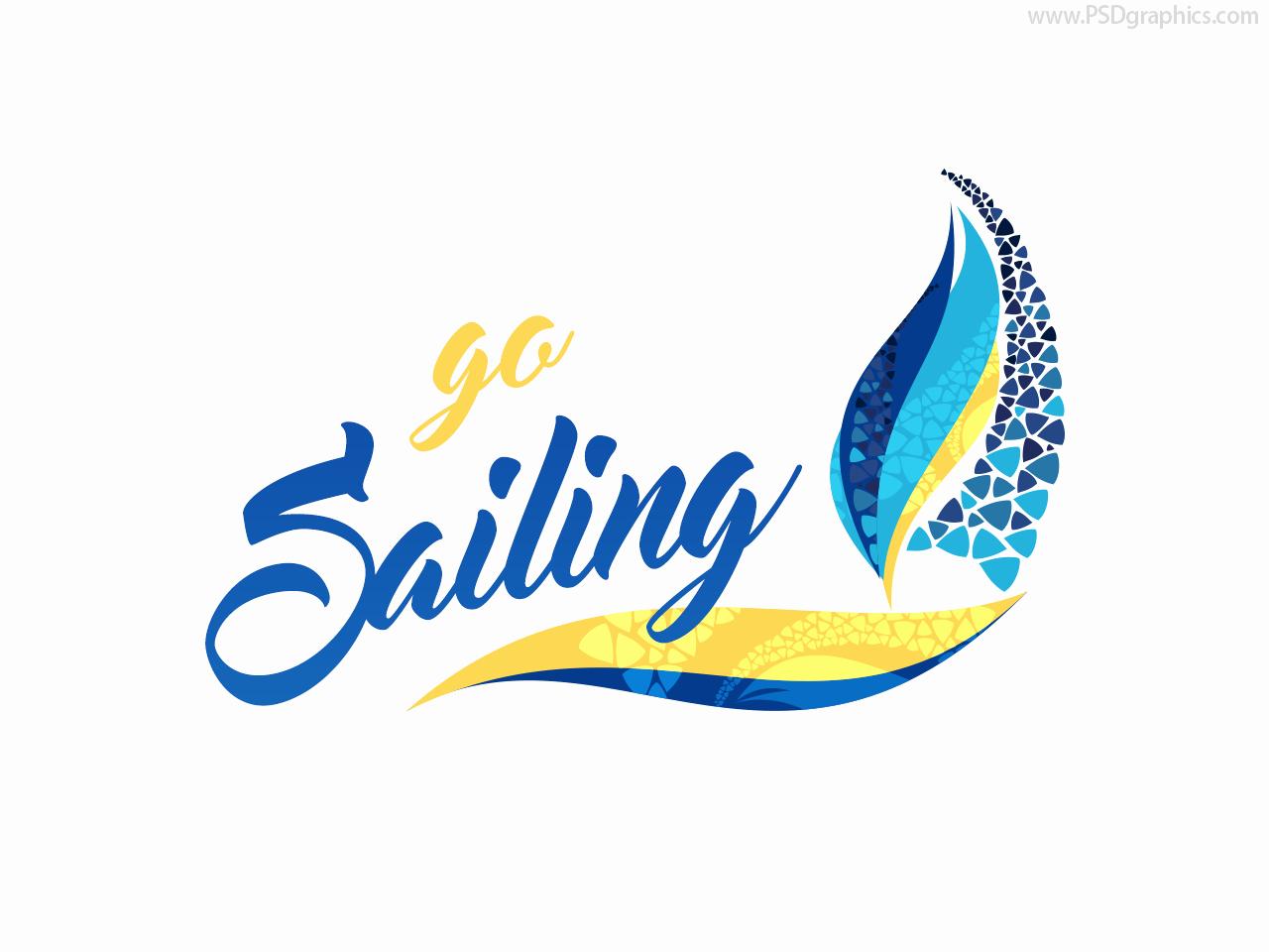 Sailing Logo Psd and Ai Templates