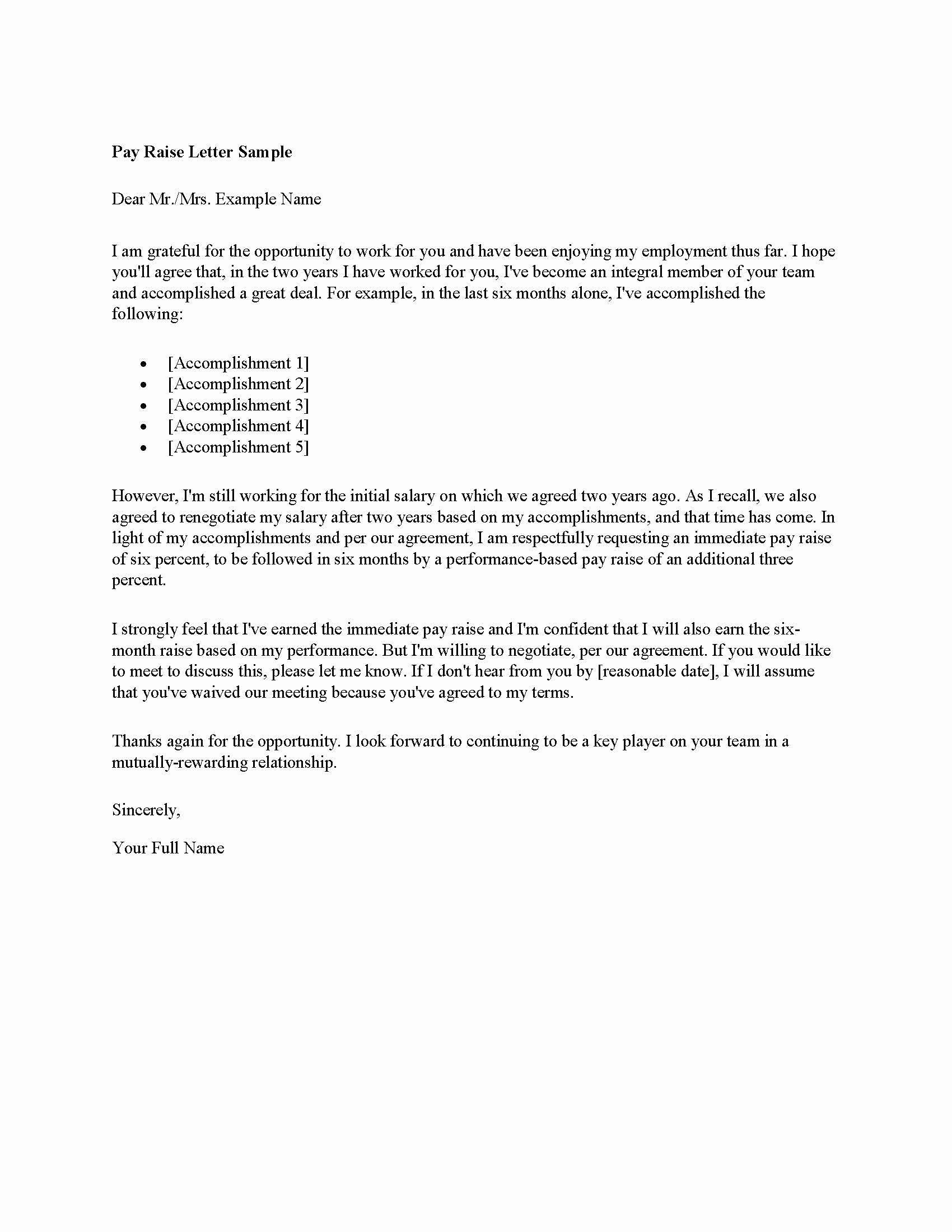 Salary Increase Proposal Letter Portablegasgrillweber