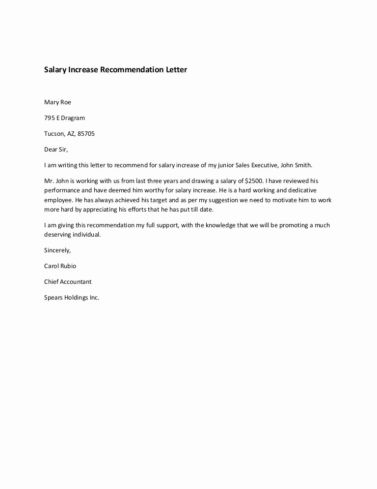 Best S Of Employee Justification Letter Example Job Latter