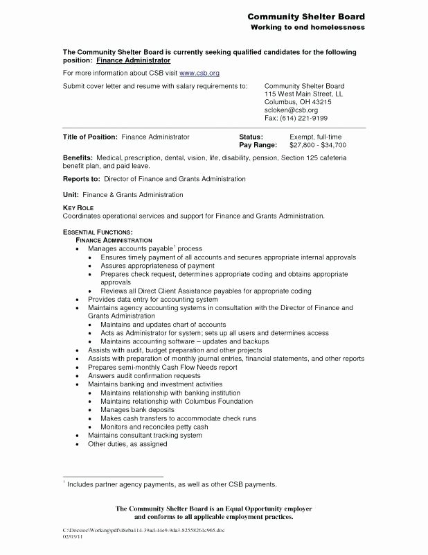 Salary Requirements Resume
