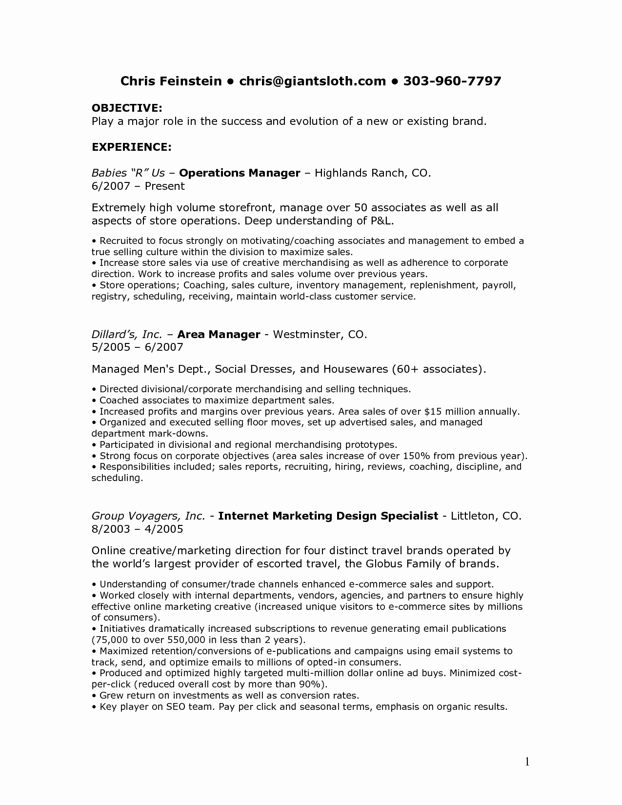 Sales associate Job Descriptions for Resume