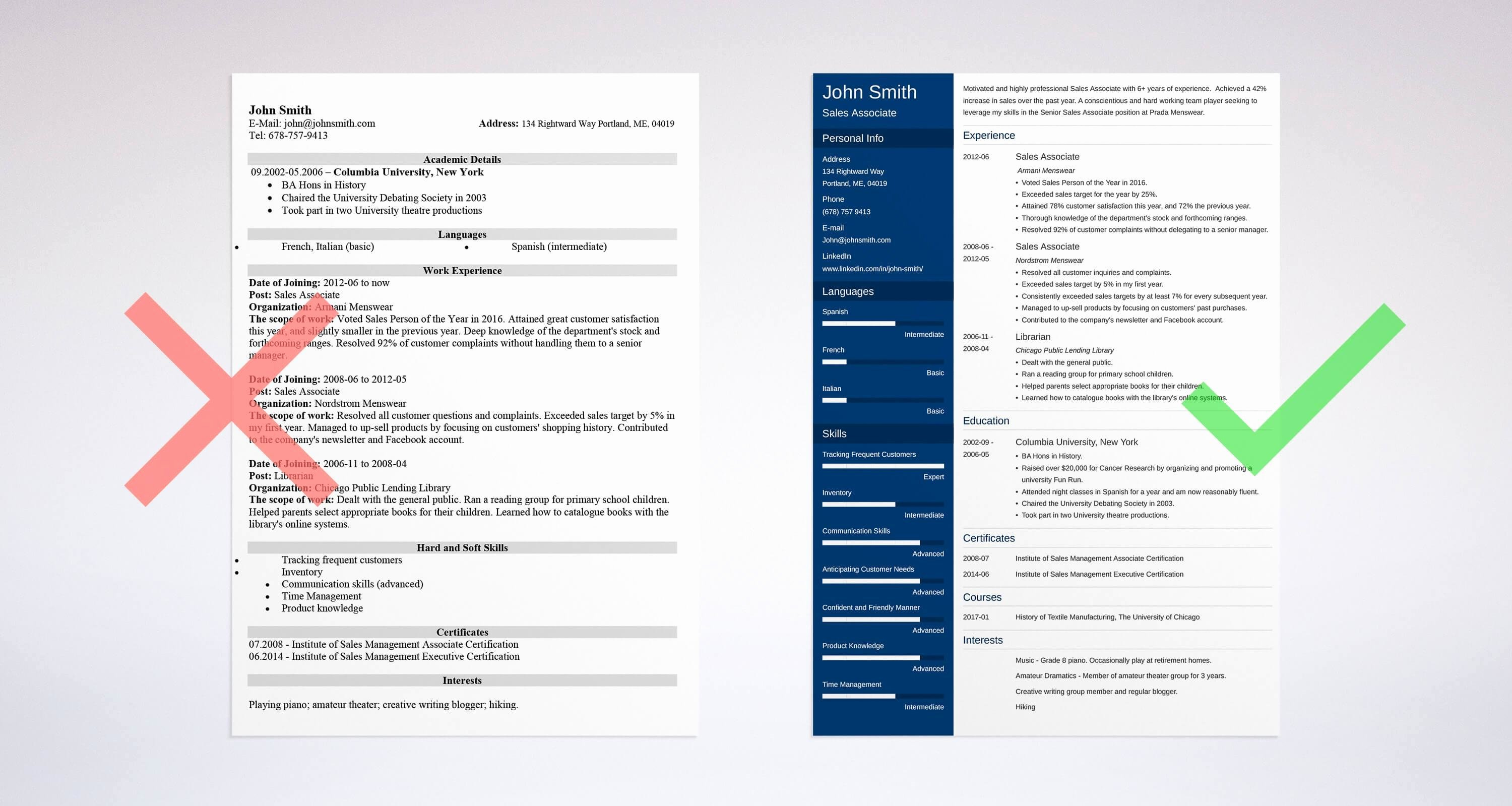Sales associate Resume Sample & Plete Guide [ 20 Examples]