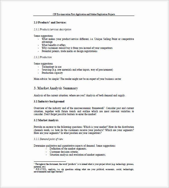 Sales Business Plan Template 10 Free Sample Example