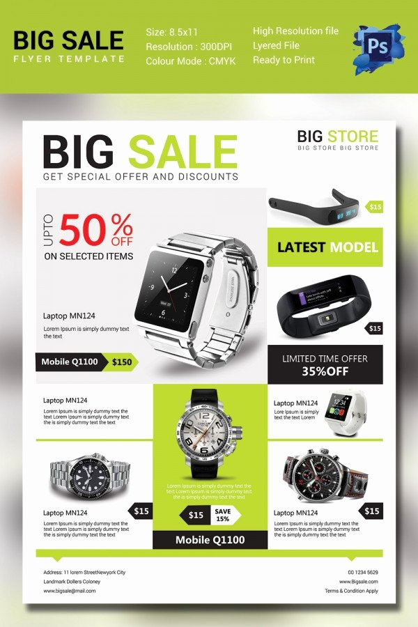 Sales Flyer Template 61 Free Psd format Download