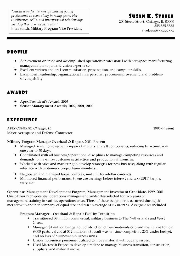 Sales Job Resume Luxury 20 Resume Examples for It Jobs