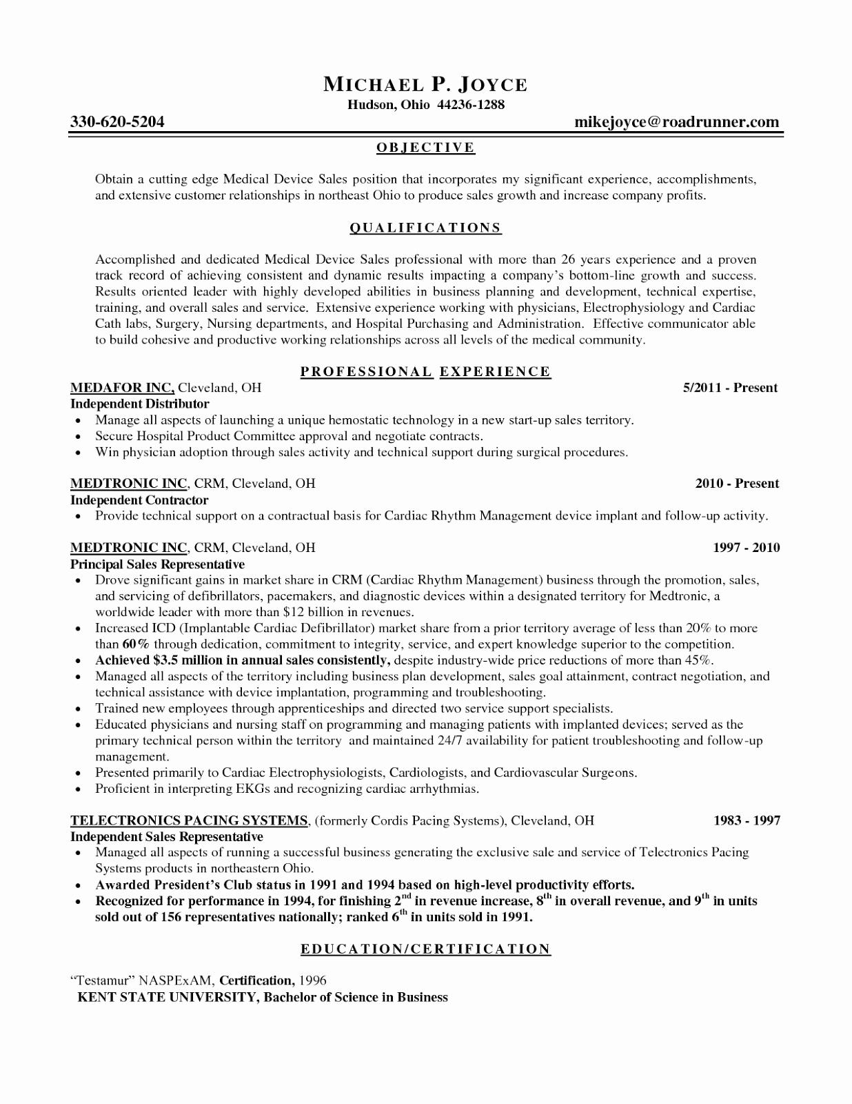 Sales Representative Resume Objective Resume Ideas